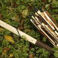 Leszczynowy longbow